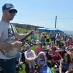 On Bearwallow Mountain, with Edneyville Elementary School